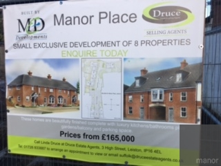 Manor Place, Leiston – Sales Going Well